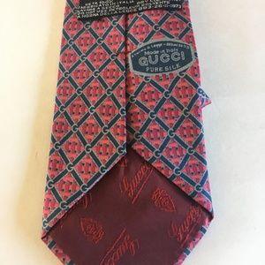 Gucci Accessories - Gucci Men's Pure Silk Tie 1970s